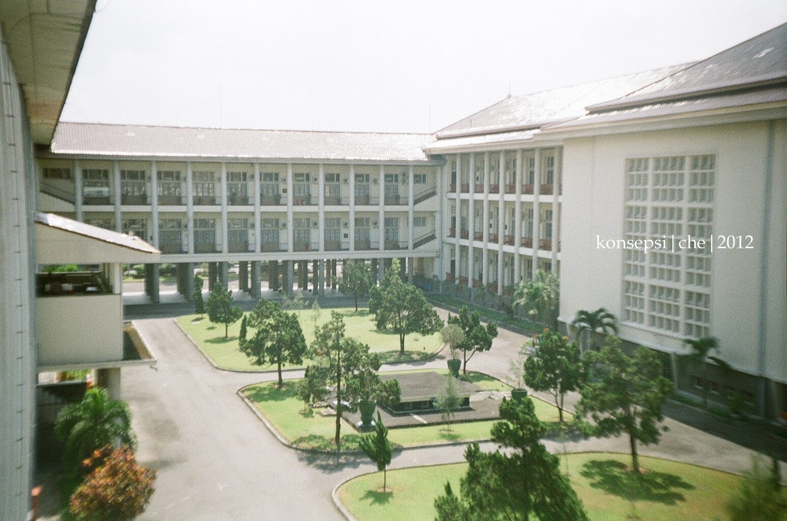 Trip Gedung Rektorat Ugm The Concept