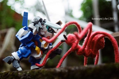 Gundam Age-1 Spallow Vs Spider