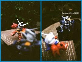 Gundam Age-1 Titus Vs Gundam Shroud (2)