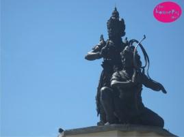 Statue Nusa Gede Island