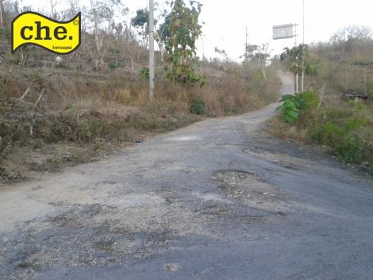 Jalanan di Nusa Penida