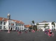 Suasana Kota Tua Jakarta